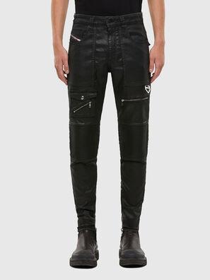 D-Derrot JoggJeans 069QY, Negro/Gris oscuro - Vaqueros