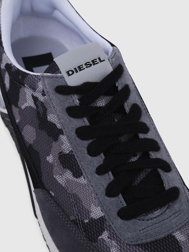 Diesel - S-KB LOW LACE, Gris/Negro - Sneakers - Image 4