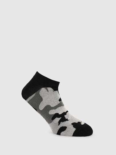 Diesel - SKM-GOST, Negro/Gris - Calcetines cortos - Image 1