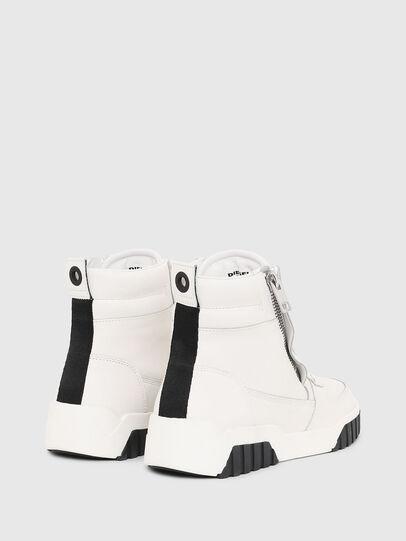 Diesel - S-RUA MID, Blanco - Sneakers - Image 3