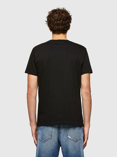 Diesel - T-DIEGOS-A7, Negro - Camisetas - Image 2