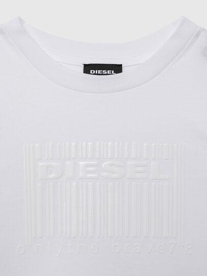 Diesel - TUDERCODE OVER, Blanco - Camisetas y Tops - Image 3