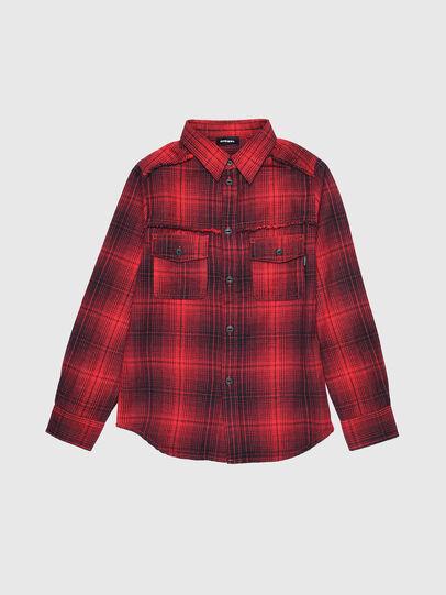 Diesel - CMILLERPATCH, Rojo - Camisas - Image 1