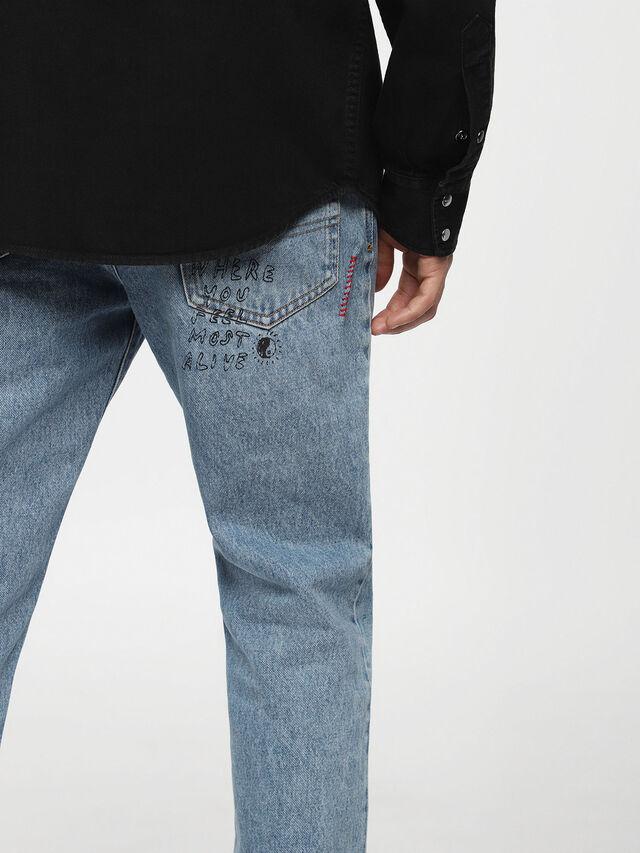 Diesel - D-PLANET, Black Jeans - Camisas de Denim - Image 3