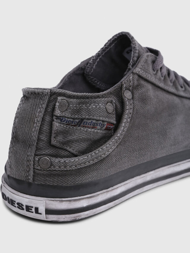 Diesel - EXPOSURE LOW I, Gris Metal - Sneakers - Image 4