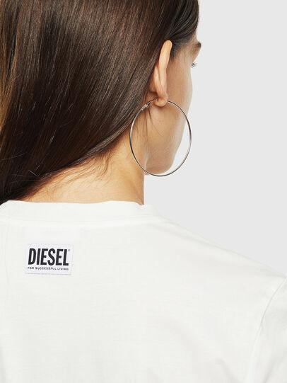 Diesel - T-SILY-YC, Blanco - Camisetas - Image 3