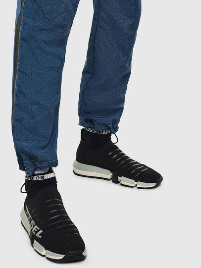 Diesel - H-PADOLA LOW SOCK, Negro - Sneakers - Image 8