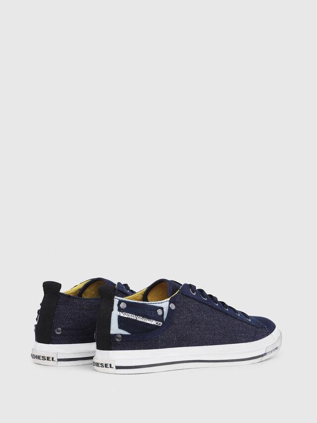 Diesel - EXPOSURE LOW I, Azul Oscuro - Sneakers - Image 3