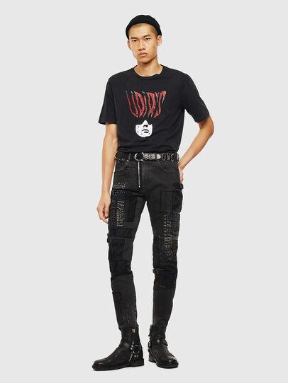 Diesel - T-JUST-J3, Negro - Camisetas - Image 9