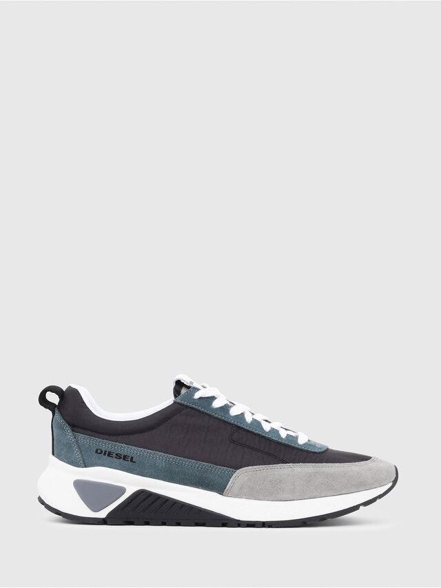 Diesel - S-KB LOW LACE, Gris/Azul - Sneakers - Image 1
