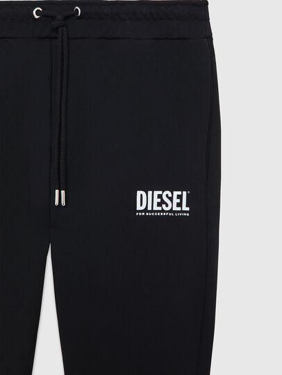 Diesel - P-TARY-LOGO, Negro - Pantalones - Image 3