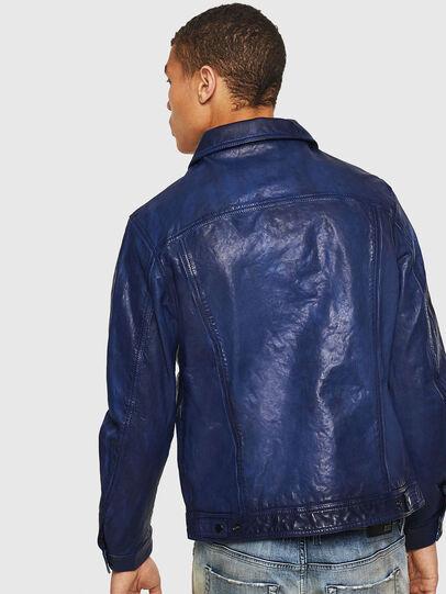 Diesel - L-NHILL, Azul - Chaquetas de piel - Image 2