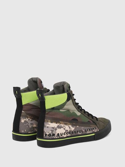 Diesel - S-DVELOWS MID, Verde Camuflaje - Sneakers - Image 3