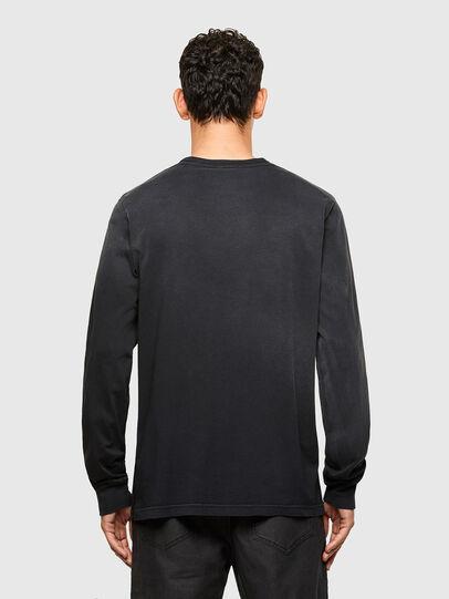 Diesel - T-JUBIND-LS, Negro - Camisetas - Image 2