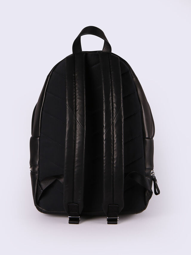 L-ZIPROUND BACK, Negro