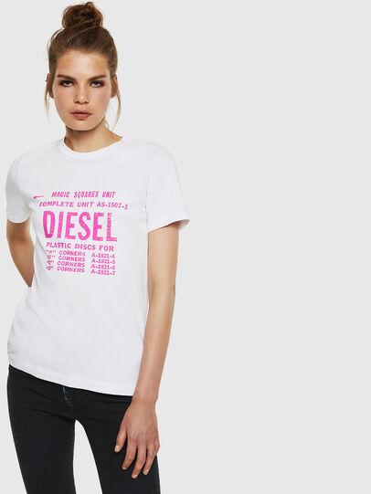 Diesel - T-SILY-ZF, Blanco - Camisetas - Image 1
