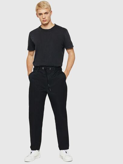 Diesel - P-MORGY, Negro - Pantalones - Image 5