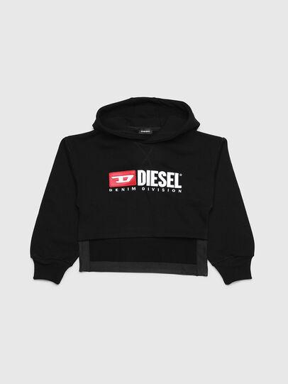 Diesel - SDINIEA, Negro - Sudaderas - Image 1