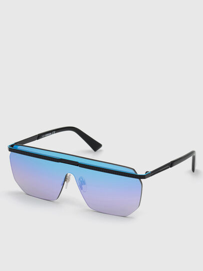 Diesel - DL0259, Azul - Gafas de sol - Image 2