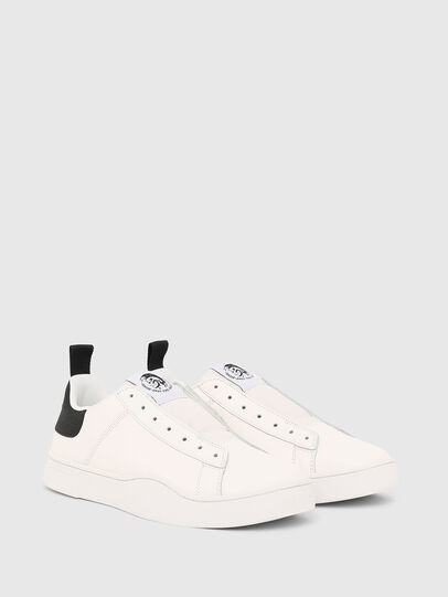 Diesel - S-CLEVER SO, Blanco/Negro - Sneakers - Image 2