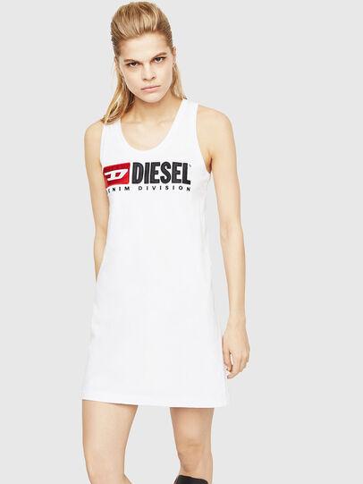 Diesel - T-SILK, Blanco - Tops - Image 1
