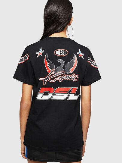 Diesel - ASTARS-T-DIEGO-FL, Negro - Camisetas - Image 2