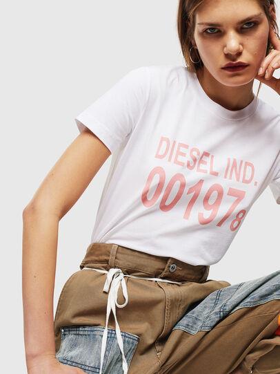 Diesel - T-SILY-001978, Blanco - Camisetas - Image 4