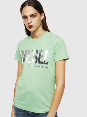 T-SILY-WX, Verde - Camisetas