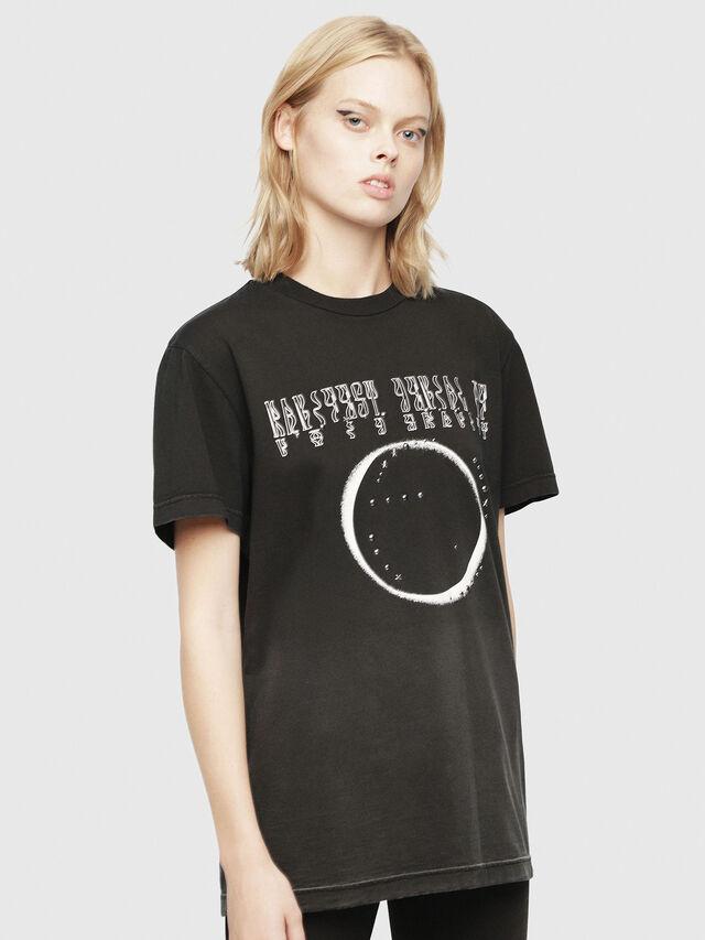 Diesel - SE-DIEGO, Negro - Camisetas - Image 2