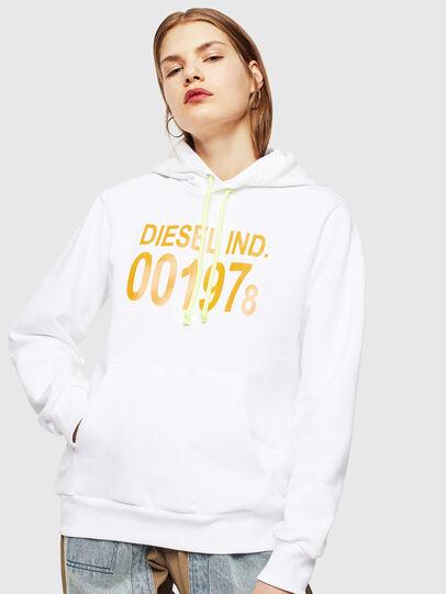 Diesel - S-GIRK-HOOD, Blanco - Sudaderas - Image 2