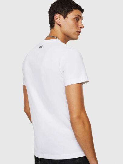 Diesel - T-DIEGO-B18, Blanco - Camisetas - Image 2