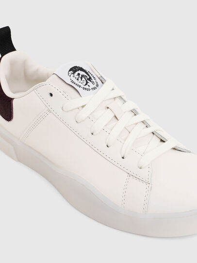Diesel - S-CLEVER LOW LACE W, Blanco/Rosa - Sneakers - Image 5