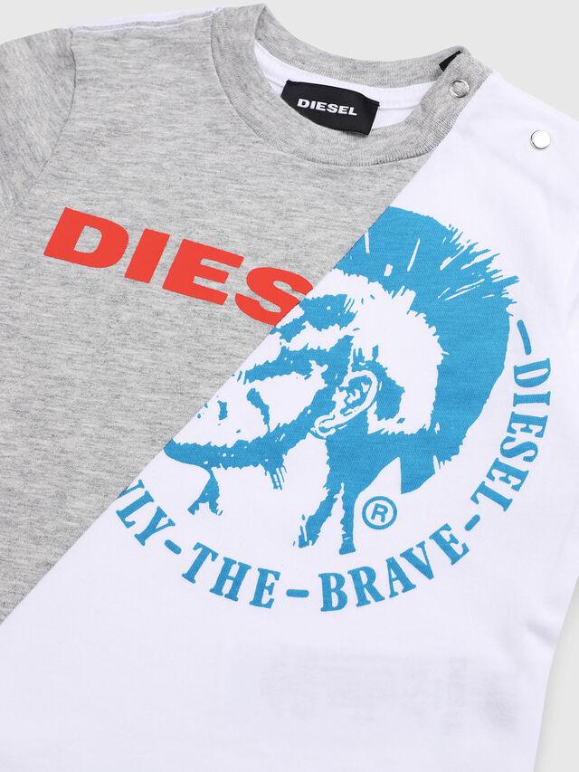 Diesel - TICAB, Blanco/Gris - Camisetas y Tops - Image 3