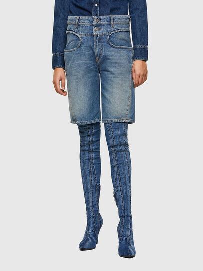 Diesel - DE-REGY-SP, Azul Claro - Shorts - Image 1
