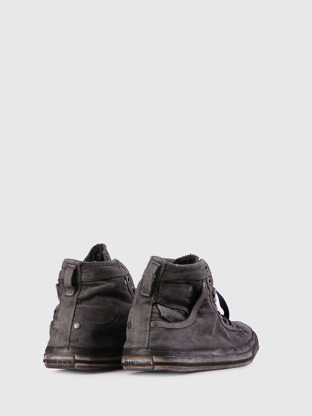 Diesel - EXPOSURE I, Gris Metal - Sneakers - Image 3