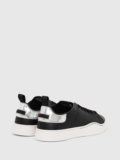 Diesel - S-CLEVER LS W, Negro/Plata - Sneakers - Image 3