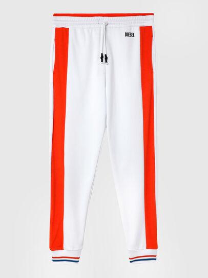 Diesel - UMLB-PETER-SP, Blanco/Naranja - Pantalones - Image 1