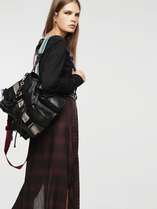 Diesel - MISS-MATCH BACKPACK, Antracita - Mochilas - Image 5