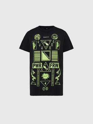 T-DARIA-E31, Negro - Camisetas