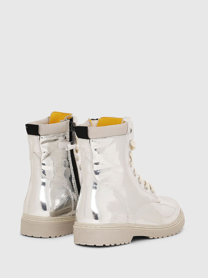 Diesel - HB LACE UP 04 CH, Plata - Calzado - Image 3