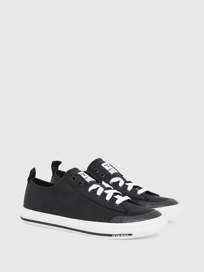 Diesel - S-ASTICO LOW CUT W, Negro - Sneakers - Image 2