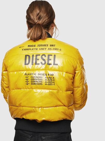 Diesel - W-ONY, Amarillo - Chaquetones de invierno - Image 2