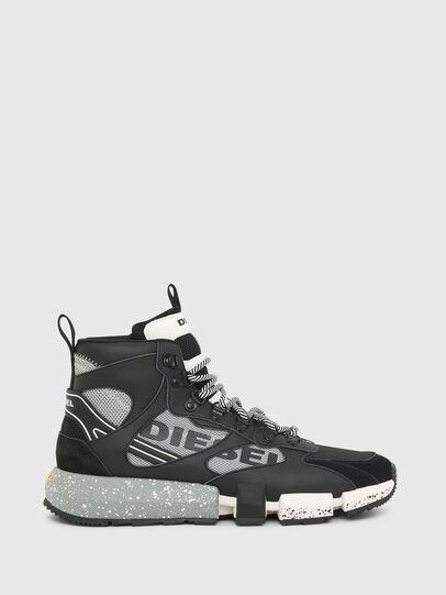 Diesel - S-PADOLA MID TREK, Negro/Gris - Sneakers - Image 1