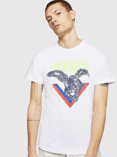 Diesel - T-DIEGO-A4, Blanco - Camisetas - Image 1
