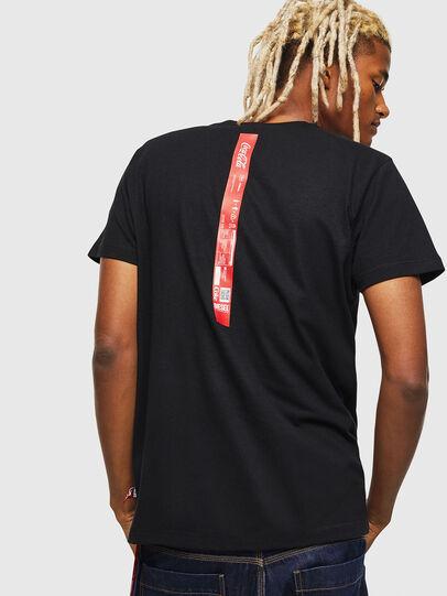Diesel - CC-T-DIEGO-COLA, Negro - Camisetas - Image 2