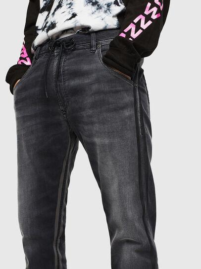 Diesel - Krooley JoggJeans 0094Q, Negro/Gris oscuro - Vaqueros - Image 3