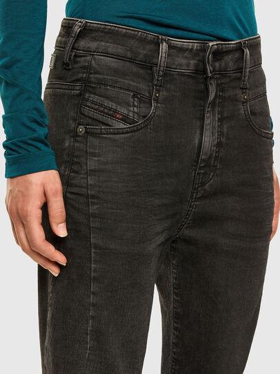 Diesel - Fayza JoggJeans 009HM, Negro/Gris oscuro - Vaqueros - Image 3