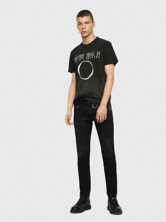Diesel - SE-DIEGO, Negro - Camisetas - Image 5
