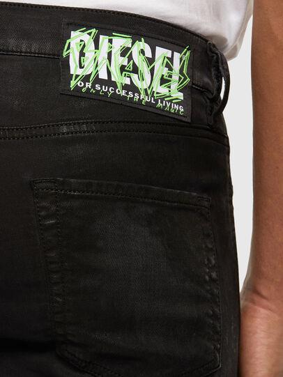 Diesel - D-Strukt JoggJeans 009GH, Negro/Gris oscuro - Vaqueros - Image 3