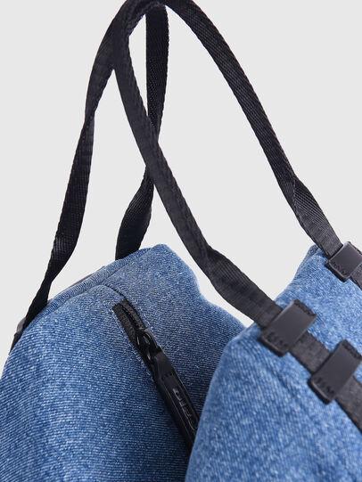 Diesel - CAGE SHOPPER XS, Blue Jeans - Bolsos - Image 2